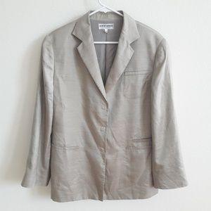 Giorgio Armani Le Collezioni Women Jacket Silk